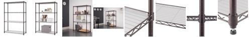 TRINITY NSF 4-Tier Indoor Wire Shelving Rack