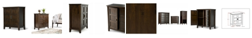 Simpli Home Burlington Storage Cabinet