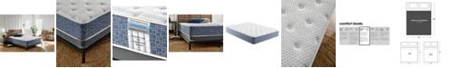 "Corsicana American Bedding 11"" Tight Top Hybrid Gel Memory Foam and Spring Medium Firm Mattress- California King"
