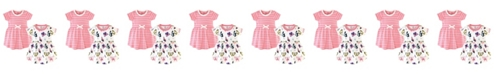 Touched by Nature Toddler Girl Organic Dress 2 Pack
