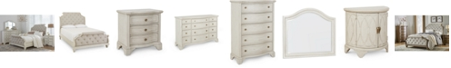 Furniture Trisha Yearwood Jasper County Dogwood Upholstered Bedroom Collection