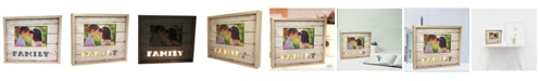 """Creative Motion Lighted Photo Frame 4"""" x 6"""" with Family"""