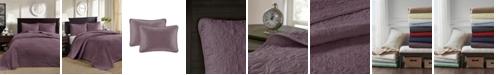 Madison Park Quebec 3-Piece Full Quilted Bedspread Set