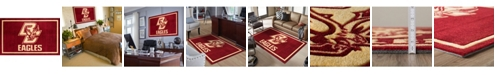 "Luxury Sports Rugs Boston College Colbc Maroon 1'8"" x 2'6"" Area Rug"