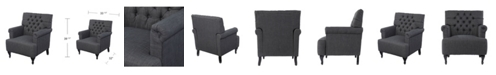 Southern Enterprises Amberley Tufted Upholstered Armchair