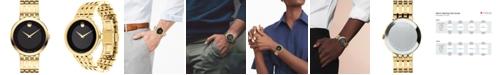Movado Men's Swiss Esperanza Gold-Tone Stainless Steel Bracelet Watch 39mm 0607059