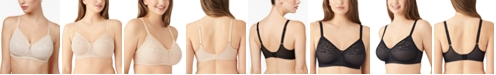 Wacoal Visual Effects Wire-Free Minimizer Bra 852210