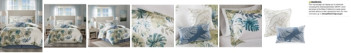 Harbor House Lorelei 6-Pc. Palm Print California King Comforter Set