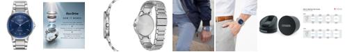 Citizen Men's Eco-Drive Axiom Stainless Steel Bracelet Watch 41mm