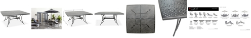 """Furniture Vintage II 64"""" x 64"""" Outdoor Dining Table, Created for Macy's"""