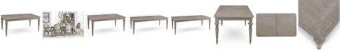 Furniture Elina Expandable Dining Table, Created for Macy's