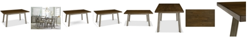 Furniture Fairhaven Dining Furniture Table, Created for Macy's