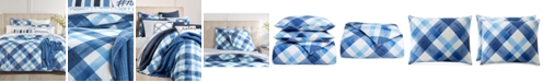 Charter Club Painted Plaid Bedding Collection, Created for Macy's