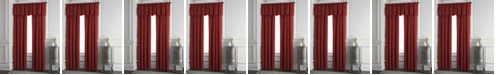 """Colcha Linens Cambric Red Lined Drapery Panel 52""""x84"""" - Each"""