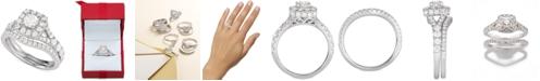 Centennial Diamond Halo Bridal Set (2 ct. t.w.)