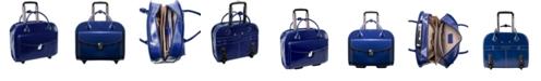 McKlein  L Series Granville Wheeled Laptop Briefcase Collection