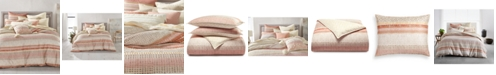 Lucky Brand Woodblock Stripe Cotton 2-Pc. Twin/Twin XL Duvet Cover Set, Created for Macy's