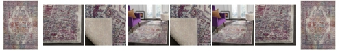 """Safavieh Valencia Ivory and Red 5'1"""" x 7'6"""" Area Rug"""