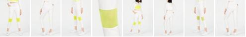 Waisted Neon-Mesh Pocket Joggers