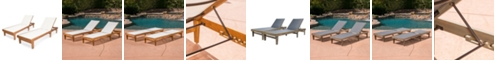 Furniture Sumrland Outdoor Chaise Lounge, Quick Ship (Set of 2)