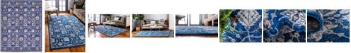 Bridgeport Home Wisdom Wis1 Blue 8' x 10' Area Rug
