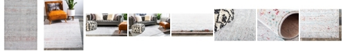 Bridgeport Home Malin Mal8 Gray 5' x 8' Area Rug