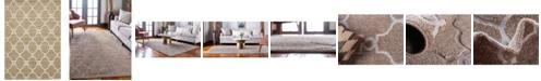 Bridgeport Home Pashio Pas2 Light Brown 7' x 10' Area Rug