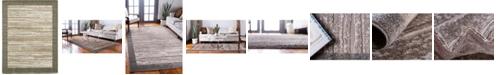 Bridgeport Home Pashio Pas4 Brown 9' x 12' Area Rug