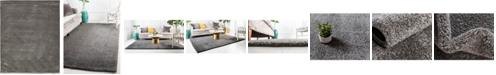Bridgeport Home Uno Uno1 Gray 10' x 13' Area Rug