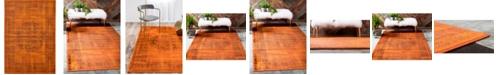 """Bridgeport Home Linport Lin5 Terracotta 8' x 11' 6"""" Area Rug"""