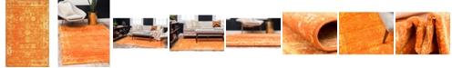Bridgeport Home Basha Bas1 Orange 5' x 8' Area Rug