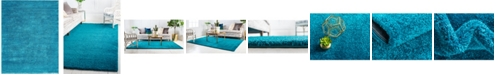 Bridgeport Home Uno Uno1 Turquoise 10' x 13' Area Rug