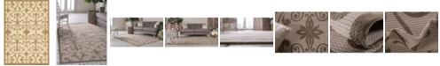 Bridgeport Home Pashio Pas5 Brown 6' x 9' Area Rug