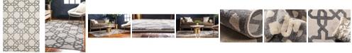 Bridgeport Home Arbor Arb5 Beige/Gray 7' x 10' Area Rug