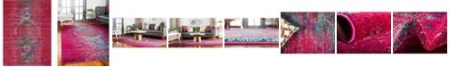 Bridgeport Home Brio Bri6 Pink 9' x 12' Area Rug