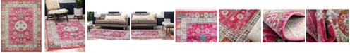 "Bridgeport Home Kenna Ken2 Pink 8' 4"" x 10' Area Rug"