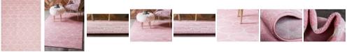 Bridgeport Home Plexity Plx2 Pink 8' x 10' Area Rug
