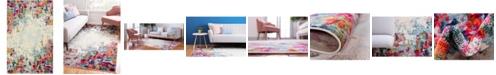 Bridgeport Home Crisanta Crs9 Multi 6' x 9' Area Rug