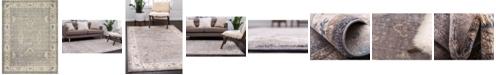 Bridgeport Home Bellmere Bel5 Gray 9' x 12' Area Rug