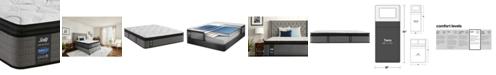 "Sealy Posturepedic Plus Shore Drive LTD 14"" Plush Euro Pillow Top Mattress- Twin"