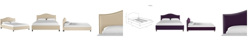 Skyline Low Profile Jameson Nail Button Platform Bed - Full
