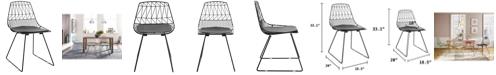 Adore Decor Vivi Dining Chair, Set of 2