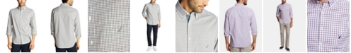 Nautica Nautica Men's Classic Fit Gingham Shirt, Created for Macy's