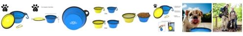 PetMaker Collapsible Pet Bowls-Set of 2