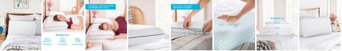 Linenspa AlwaysCool Gel Memory Foam Pillow, Standard