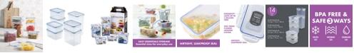 Lock n Lock Easy Essentials Rectangular 14-Pc. Food Storage Container Set
