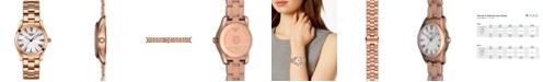 Tissot Women's Swiss T-Wave Rose Gold 5N Stainless Steel Bracelet Watch 30mm