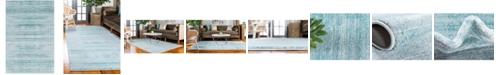 Jill Zarin Madison Avenue Uptown Jzu001 Turquoise 4' x 6' Area Rug