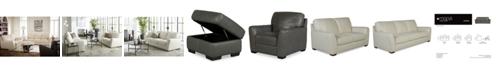 Furniture Jaspene Leather Sofa Collection