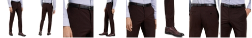 HUGO Hugo Boss Men's Slim-Fit Red Clay Solid Suit Pants, Created For Macy's